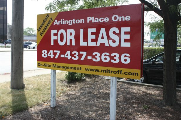 Arlington Place One Arlington Heights. This double sided site sign is heavy duty and attractive.
