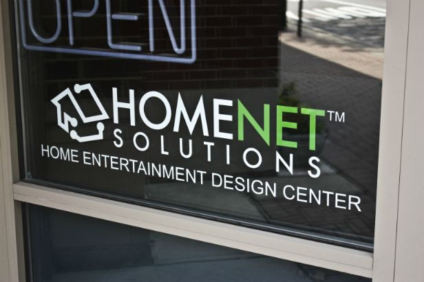 Homenet Solutions Arlington Heights.  Use a typestyle that compliments your existing logo for a more complete look.  Our expert designers can pick one out for you!