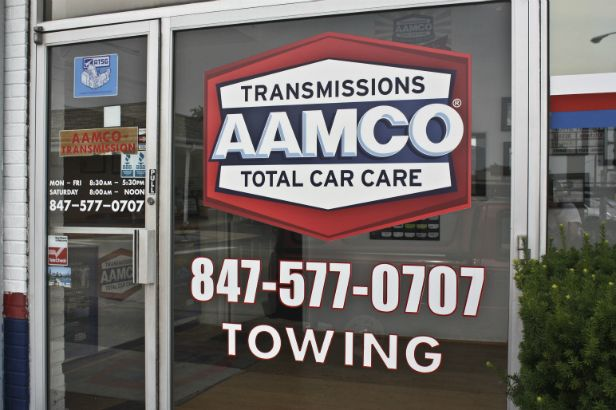 AAMCO Arlington Heights.  Pair your logo with essential storefront information to get the most out of your advertising space for a low cost.